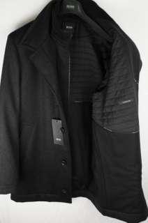 HUGO BOSS Jacke Jacket Kaschmirwolle COXX schwarz o. anthrazit Coat