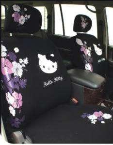 Neu Hello Kitty AUTO Sitzbezüge Schonbezüge 10Teile 044