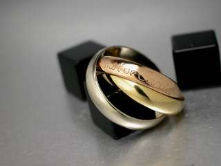Cartier les must de Cartier Trinity RING 18K/750 Gelbgold Weißgold
