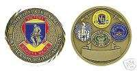 ARMY FORT JACKSON SOUTH CAROLINA COLOR CHALLENGE COIN