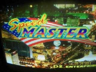 ASTRO SPEEDMASTERS CHERRY MASTER POKER 8 LINER ARCADE PCB