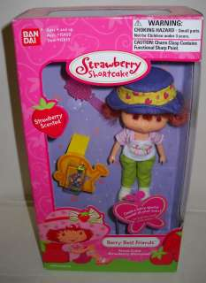 970 NRFB Ban Dai Frutti Cutie Strawberry Shortcake