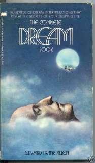 THE COMPLETE DREAM BOOK Edward Frank Allen BOOK