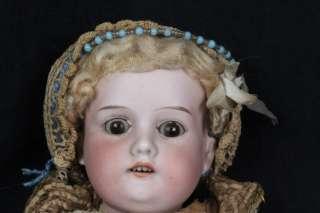 L346 ANTIQUE ARMAND MARSEILLE BISQUE HEAD COMPOSITION BODY DOLL