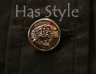 Ed Hardy Mens BASIC Dress Shirt Button Poplin NWT L