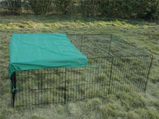 72 x 48 Pet Dog Cat Playpen w/Cover Rabbit Enclosure 814836017800