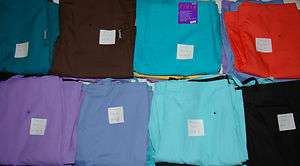 New Lots Of Landau Medical Nursery Uniform Scrubs Flare Pants Style