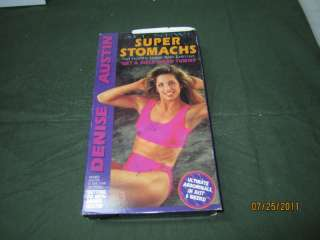 Denise Austin Super Stomachs VHS Ab workout