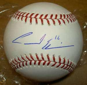 ANDRE ETHIER AUTOGRAPH SIGNED MLB BASEBALL GAI DODGERS