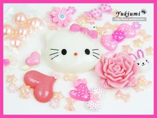 Kitty Resin cabochon flatback Apple iphone bling bling case US