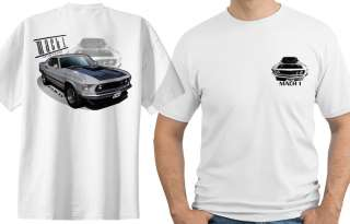 1969 Ford Mustang Mach 1 Official Licenced Tshirts