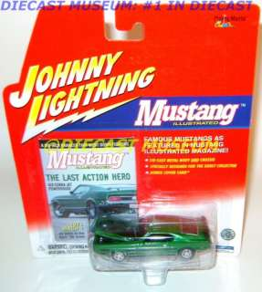 1971 71 FORD MUSTANG MACH 1 ILLUSTRATED DIECAST RARE