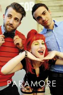 PARAMORE POSTER Hayley Williams band trio 60x90cm NEW