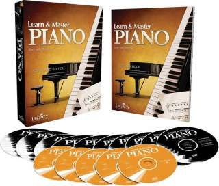 Hal Leonard Learn & Master Piano DVD/CD/Book Pack Legacy Of Learning