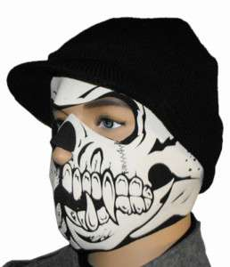 SKULL FULL 2 Mask biker motorcycle ski neoprene winter