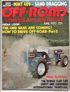 1973 Off Road Magazine Chevy Suburban 4WD Vans
