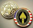 Special Operations Command 24K Gold plated Print challenge coin