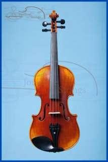 Fine Hand Carved 4/4 Violin Labeled Sandner Germany Thomastik Strings
