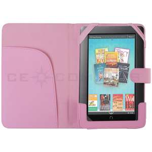 Cover Sleeve For Nook Color Tablet  eBook Pink