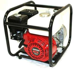 NEW HONDA POWERED 2 WATER / SEMI TRASH PUMP 5.5 HP ENGINE