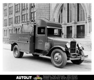 1930 White Bell Telephone Line Truck Factory Photo