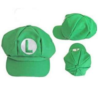 2x Super Mario Bros Cap Anime Cosplay Hat Brand New M&L