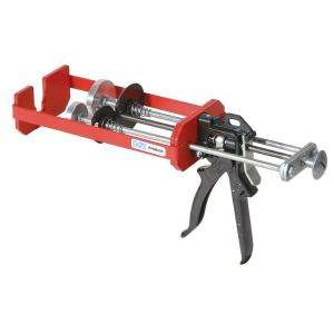 COX 600ml. X 300ml., Dual Cartridge High Viscosity EpoxyApplicator Gun