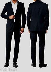 Red Label) Wool Trim Fit Aamon1/Hago 2 button Business Suit 42L