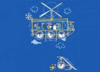 Small Mammal Flying Machine   Threadless   Best t shirts in the