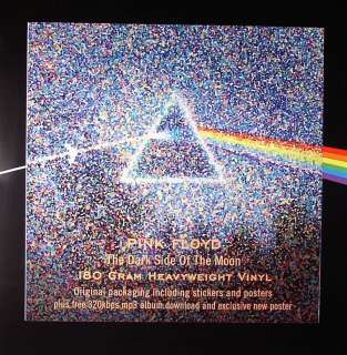 Pink Floyd   Dark Side Of The Moon [LP] 180 Gram Vinyl Record
