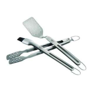 Weber 3 Piece Stainless Steel Grilling Tool Set 6425