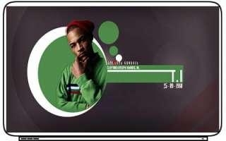 Rap Hip Hop T.I TI Music Artist Laptop Netbook Skin Cover Sticker