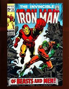 The Invincible Iron Man #16 High Grade NM 9.4/9.6