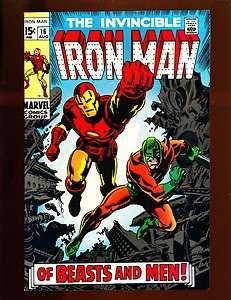 The Invincible Iron Man #16 High Grade NM 9.4/9.6