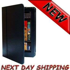 PU Leather Folio Case for  Kindle Fire With 3 in 1 Built in