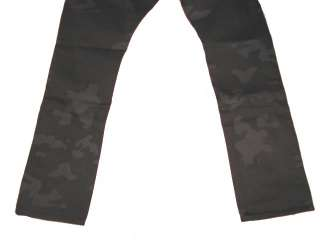 495.00 NEW POLO RALPH LAUREN BLACK LABEL MENS CAMO DENIM JEANS SIZE