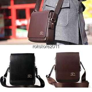 Authentic Kangaroo Mens Leather Shoulder Messenger Bag Briefcase