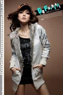 New Women Korean Fashion Hoodie Sweater Tops Outerwear 2 Colors K081