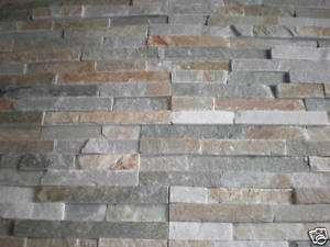 Verblender Klinker Naturstein Brickstone beige braun