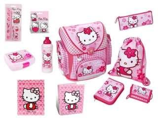 Hello Kitty Schulranzen Set Federmappe 15t Dose+Flasche