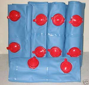 NEW 1x8 Pool Cover Winter Water Bag Double Tube 5 pack