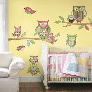 Whimsical Owls Peel & Stick Wall Art ~ Choice