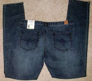 NWT Guess Manchester Slim Low Rise Womens Jeans 28 29
