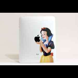 Snow White iPad 1, 2 Apple Sticker Decal Skin Cover