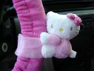 Neu Hello Kitty Auto Plüsch Auto Lenkrad Bezug f028