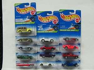 Hot Wheels Treasure Hunt 1996 13 Car Set MOC Buy it Now