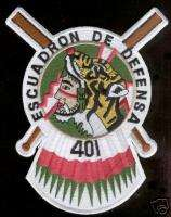 FIGHTER SQUADRON 401st PATCH MEXICAN AIR FORCE MEXICO