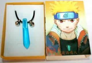 New Naruto Cosplay Anime Uzumaki Tsunade Necklace Blue QYA1001