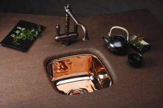ELKAY SCUH1416CM MIRRORED COPPER KITCHEN/BAR SINK