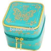 ANNA SUI AUTHENTIC BUTTERFLY GREEN JEWELRY RING BOX